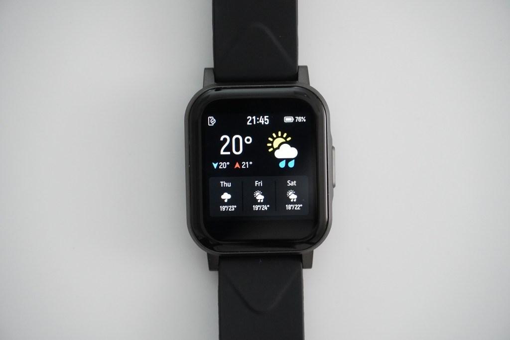 SoundPeats Watch 1 正面1.4吋觸控螢幕