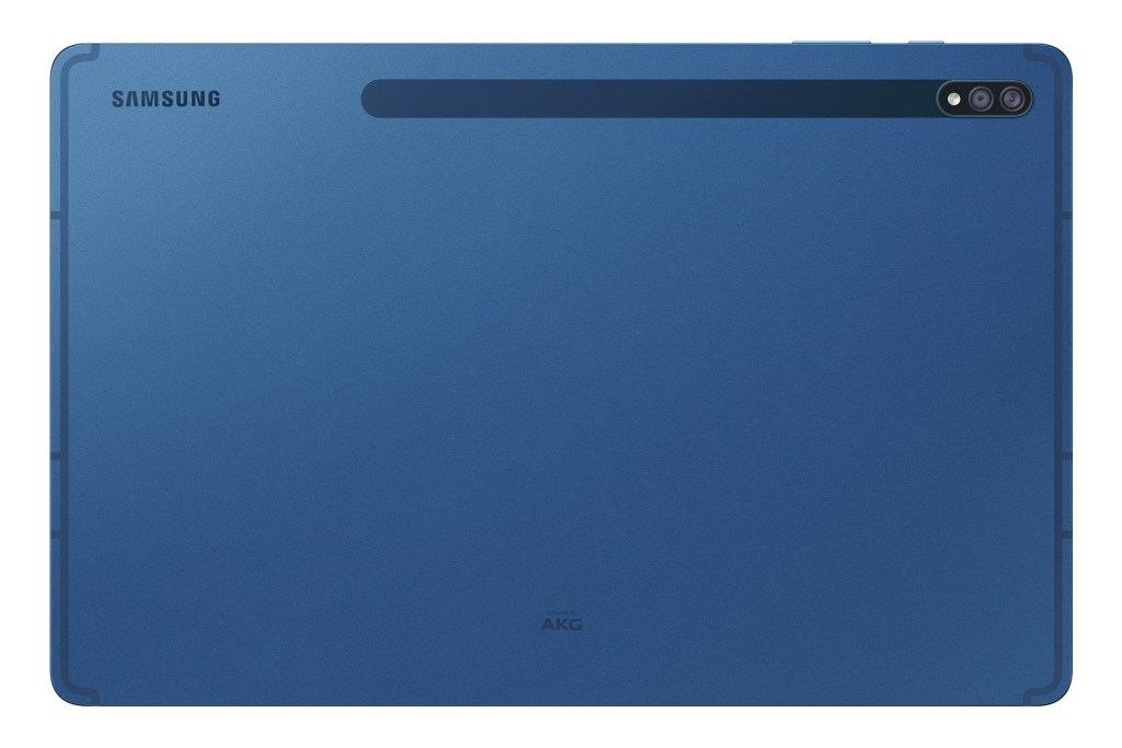 Galaxy Tab S7+星霧藍背面