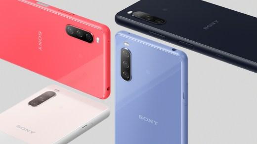 Xperia 10 III 共有水漾藍,水漾粉,水漾黑,水漾白等四款配色,預計將於2021年初夏於台灣市場推出