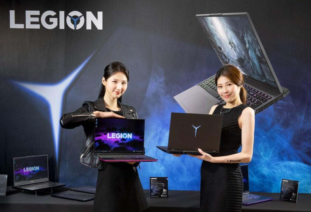 全新AMD系列Legion筆電,包括旗艦機款Legion 7、規格頂尖的Legion 5 Pro,和主流玩家首選的Legion 5。
