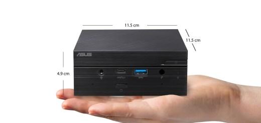 ASUS Mini PC PN51精巧高效,可支援8K UHD畫面或同時連接四台4K 60 Hz螢幕。
