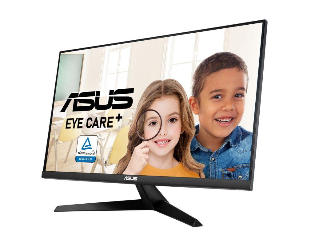 「ASUS-VY249HE」及「ASUS-VY279HE」內建ASUS-Eye-Care-Plus護眼技術,提供多項貼心功能。