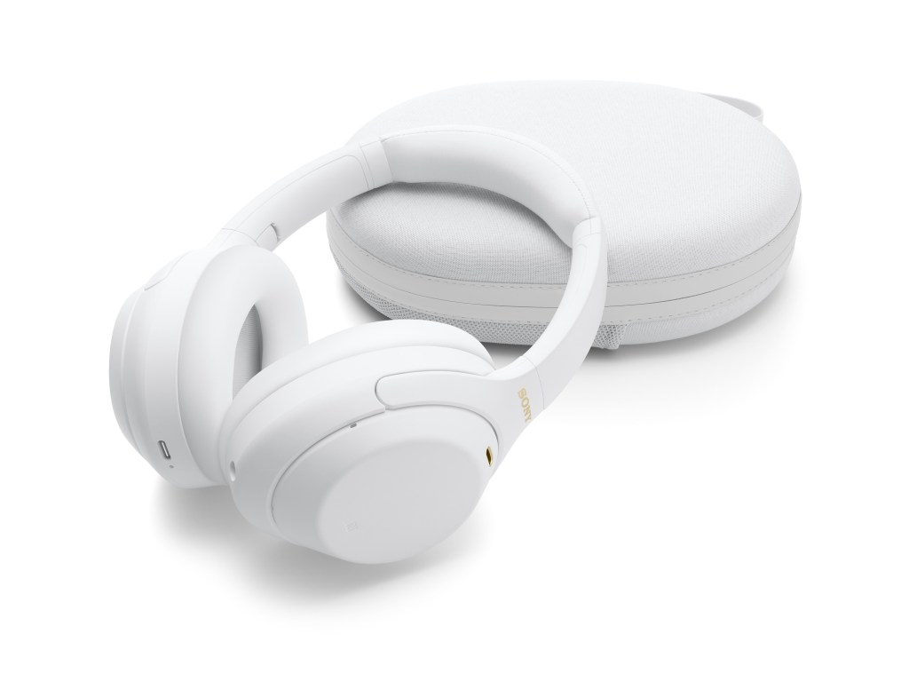 Sony WH-1000XM4 無線主動式降噪耳機推出全新限量靜謐白版