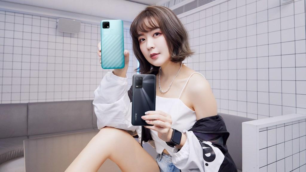realme潮玩新機發表會推出realme narzo 30A、realme 8 5G及realme Watch 2 系列。