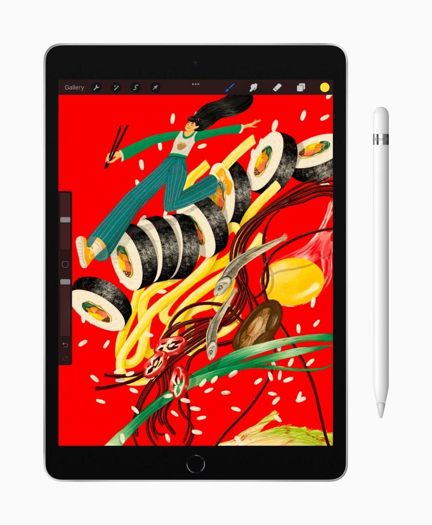 強大的 A13 仿生晶片加入了最受歡迎的 iPad,讓使用者可以流暢使用高階 app。
