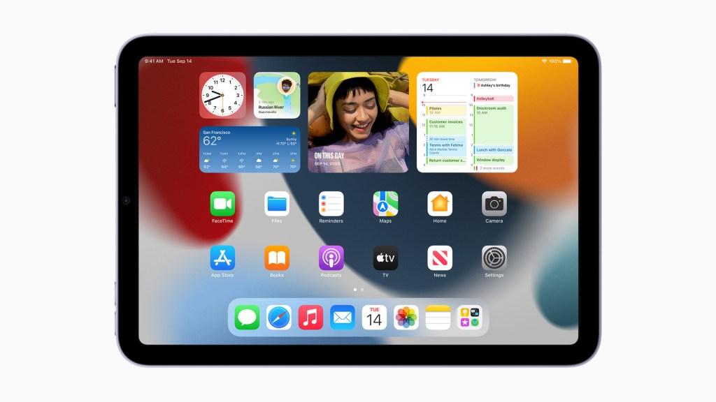 iPadOS 15 帶來更多獨特功能,挑戰 iPad mini 的極限。