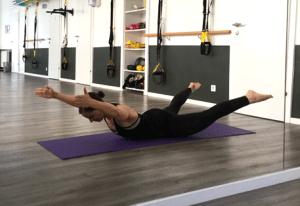 Rückentraining: Endposition Rückenextension