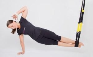 Muskeln definieren mit Schlingentraining (TRX)