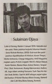 Riwayat Sulaiman Djaya