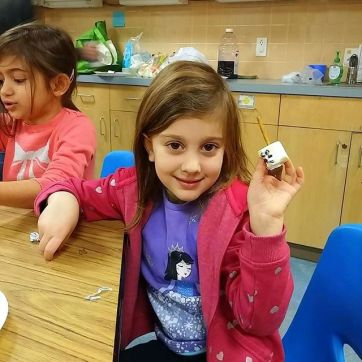 Marshmallow Dreidels