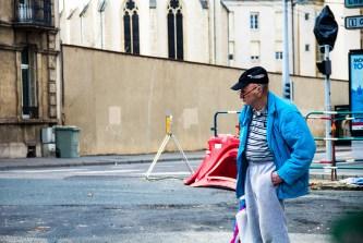 Foto, Frankreich, alter Mann