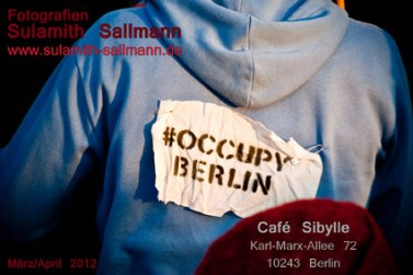 Flyer, #occupy Berlin