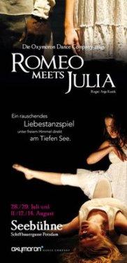 Flyer, Oxymoron, Tanztheater