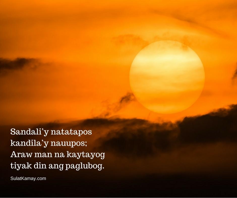 Sandali'y Natatapos