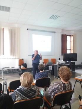 Giuseppe Deiana durante la presentazione del suo libro (5)