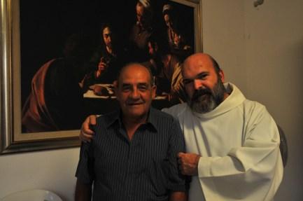 Con Marco Selvaggio