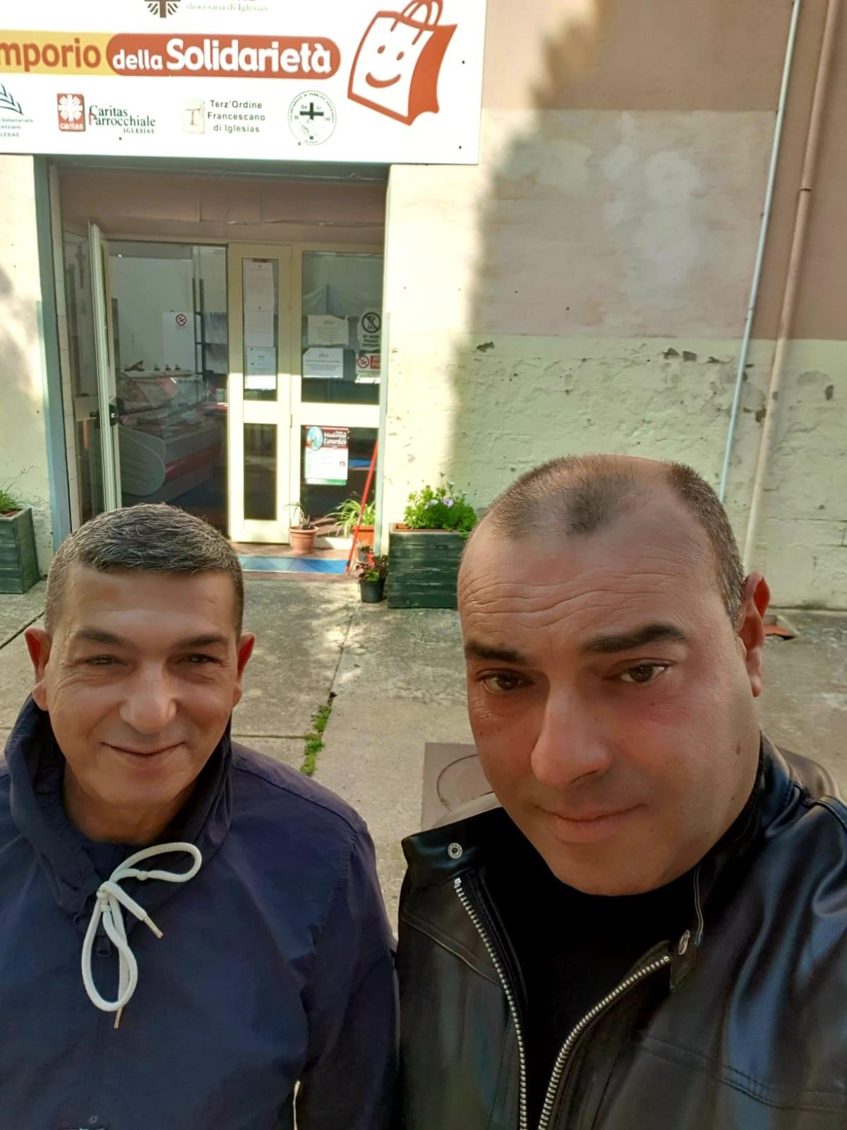 Gianluigi Saba e Maurizio Santus