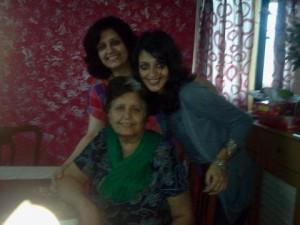 Granny, Mom and Daughter @sulekkha