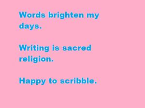 Words @sulekkha - Blog Challenge