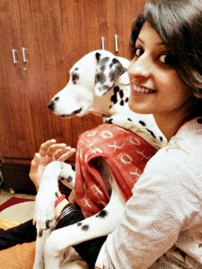 Shloka and Sparky