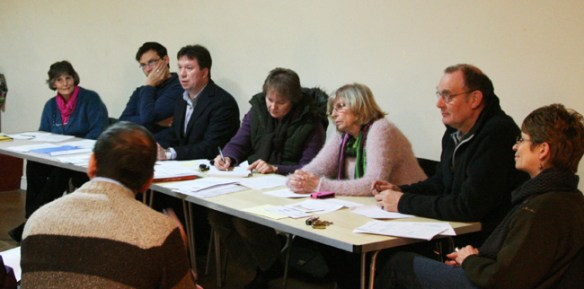 Parish Council Meeting at the Church Hall