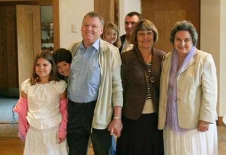 John's Birthday Party in 2007
