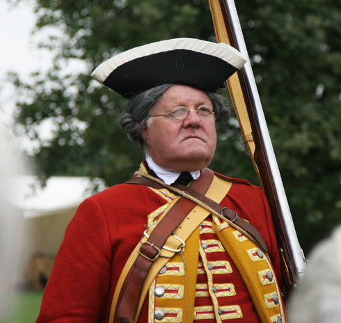 A very proud redcoat!