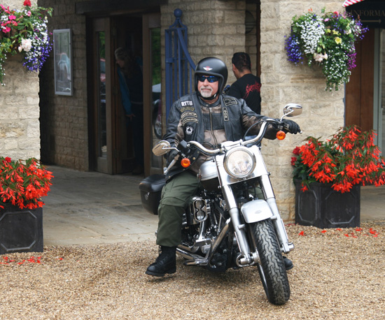 Arrival of the first Harley-Davidson