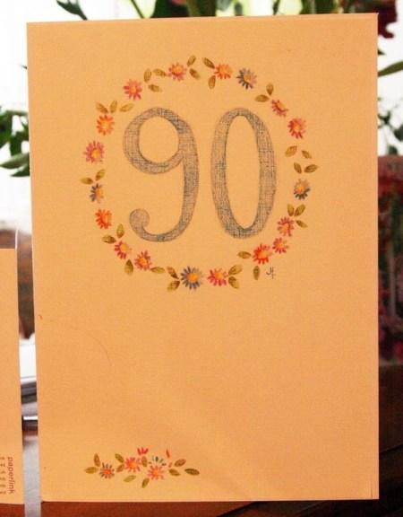 Village Birthday Card.....