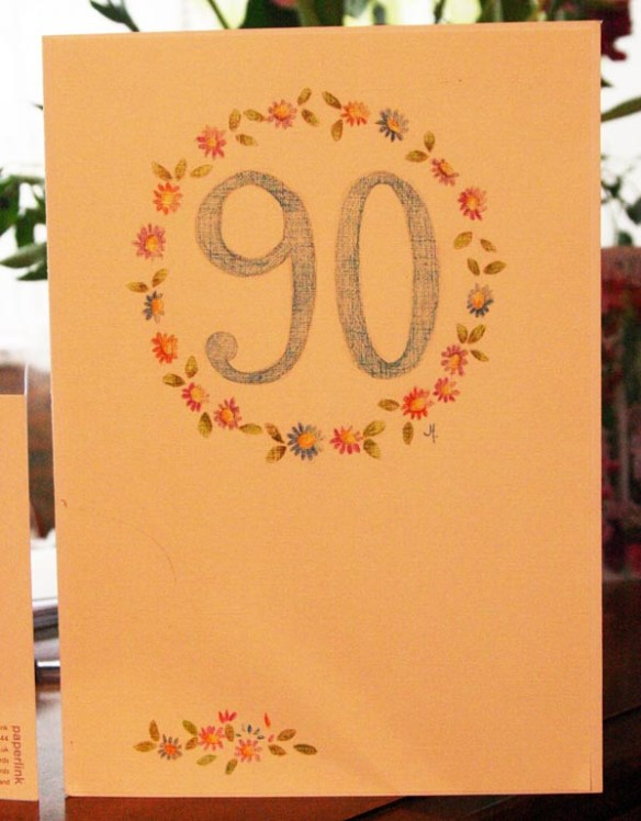 Village Birthday Card.....