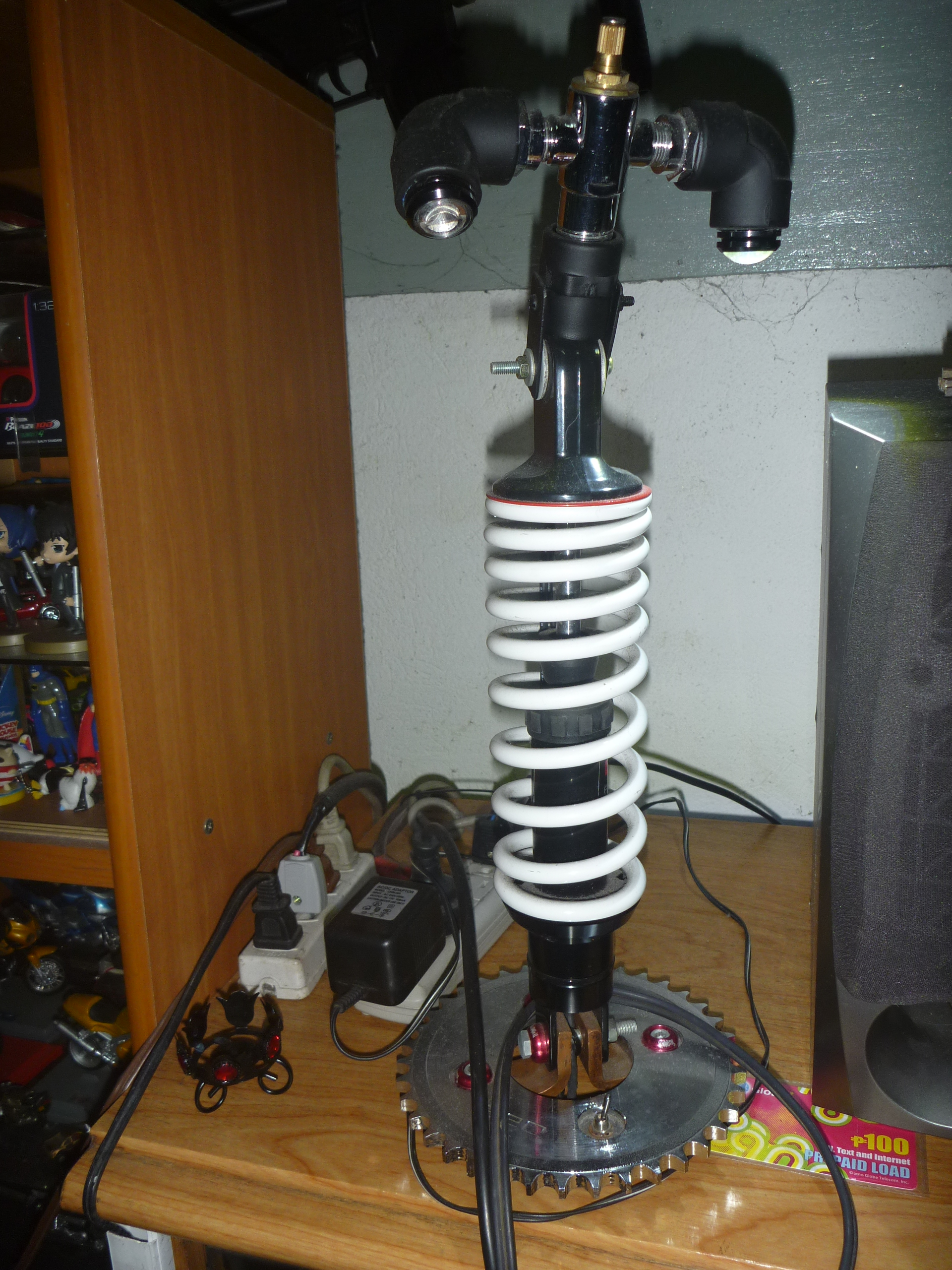 Custom Motorcycle Parts Desk Lamp  Sulit Manila  Philippines