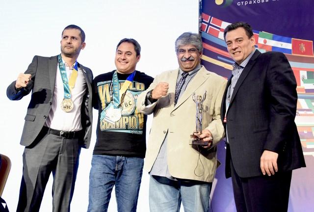 Reza Djabbarpoor,Chano Planas, Syed Nauman Shah, Mauricio Sulaimán. 09