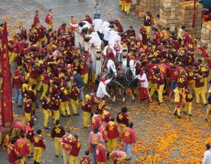 Italia del Carnevale a Ivrea