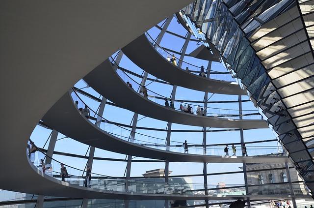 Cupola di Forster del Reichstag