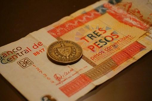3 pesos cuba