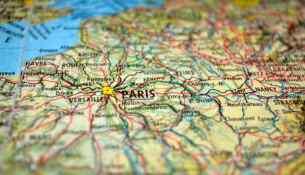Cartina Francia Parigi