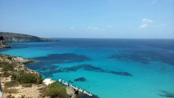 Lampedusa cala pulcino