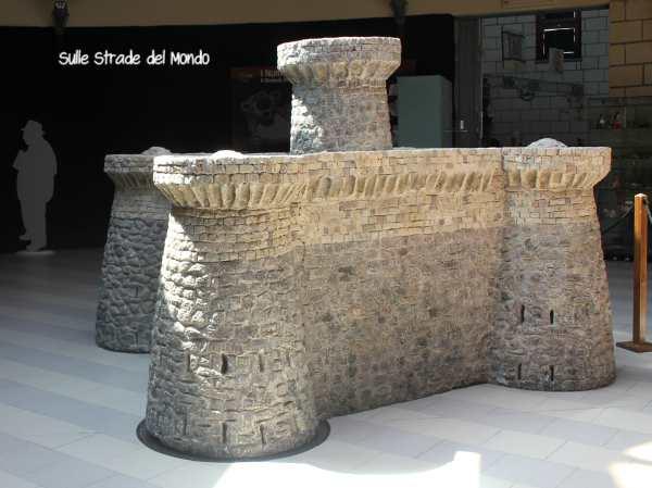 Ricostruzione del nuraghe di Su Nuraxi