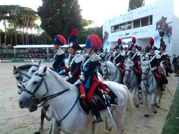 carabinieri a cavallo