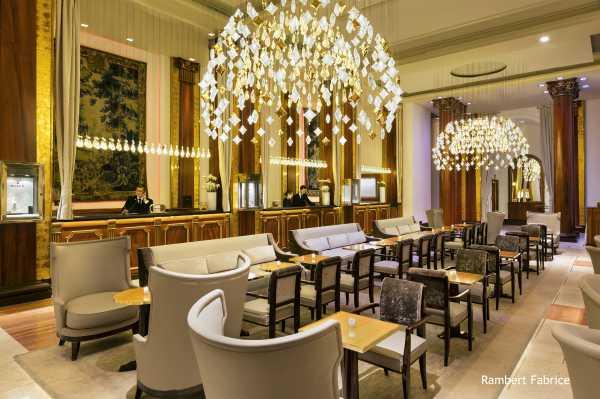 L'elegante Lobby del Majestic