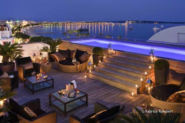 Suite MAJESTIC - terrazza notturna