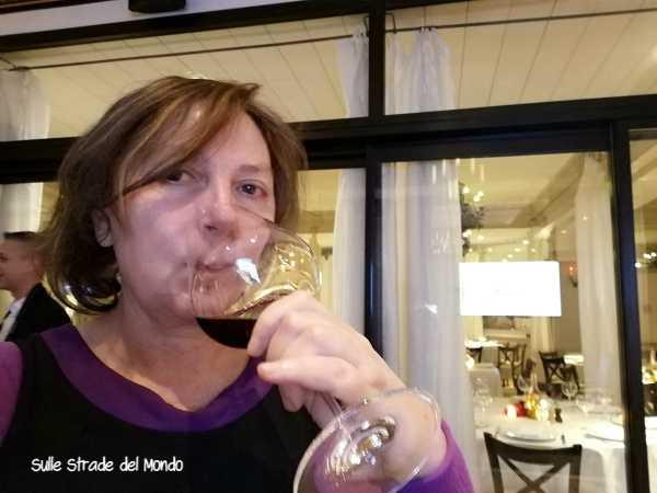 Degustazione vino rosso