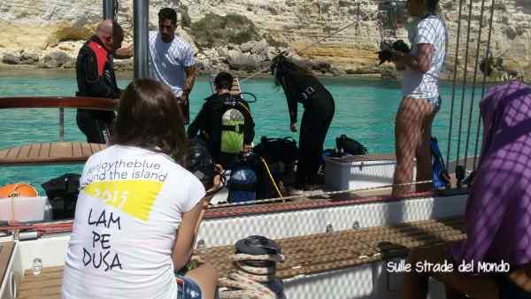 Lampedusa in barca a vela