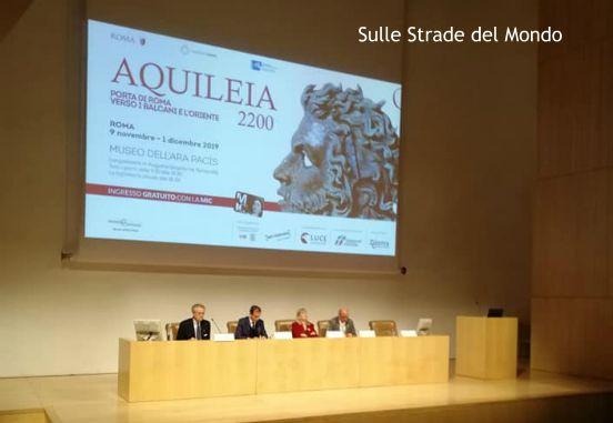COnferenza stampa MOstra Aquileia