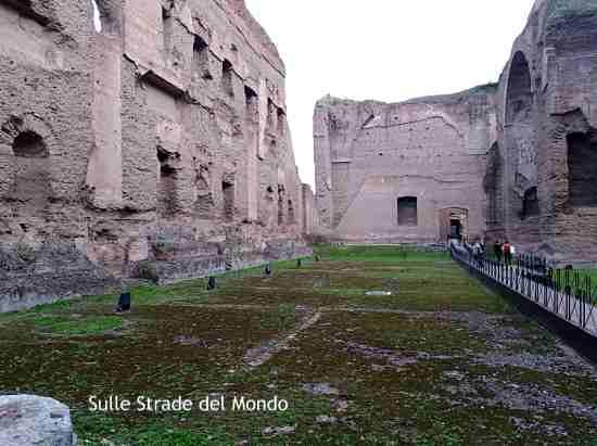 Natatio Terme di Caracalla Roma