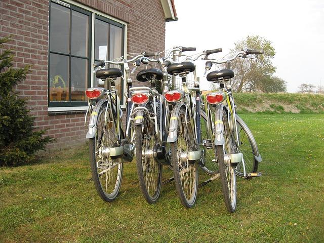Andare in bici a Terschelling:
