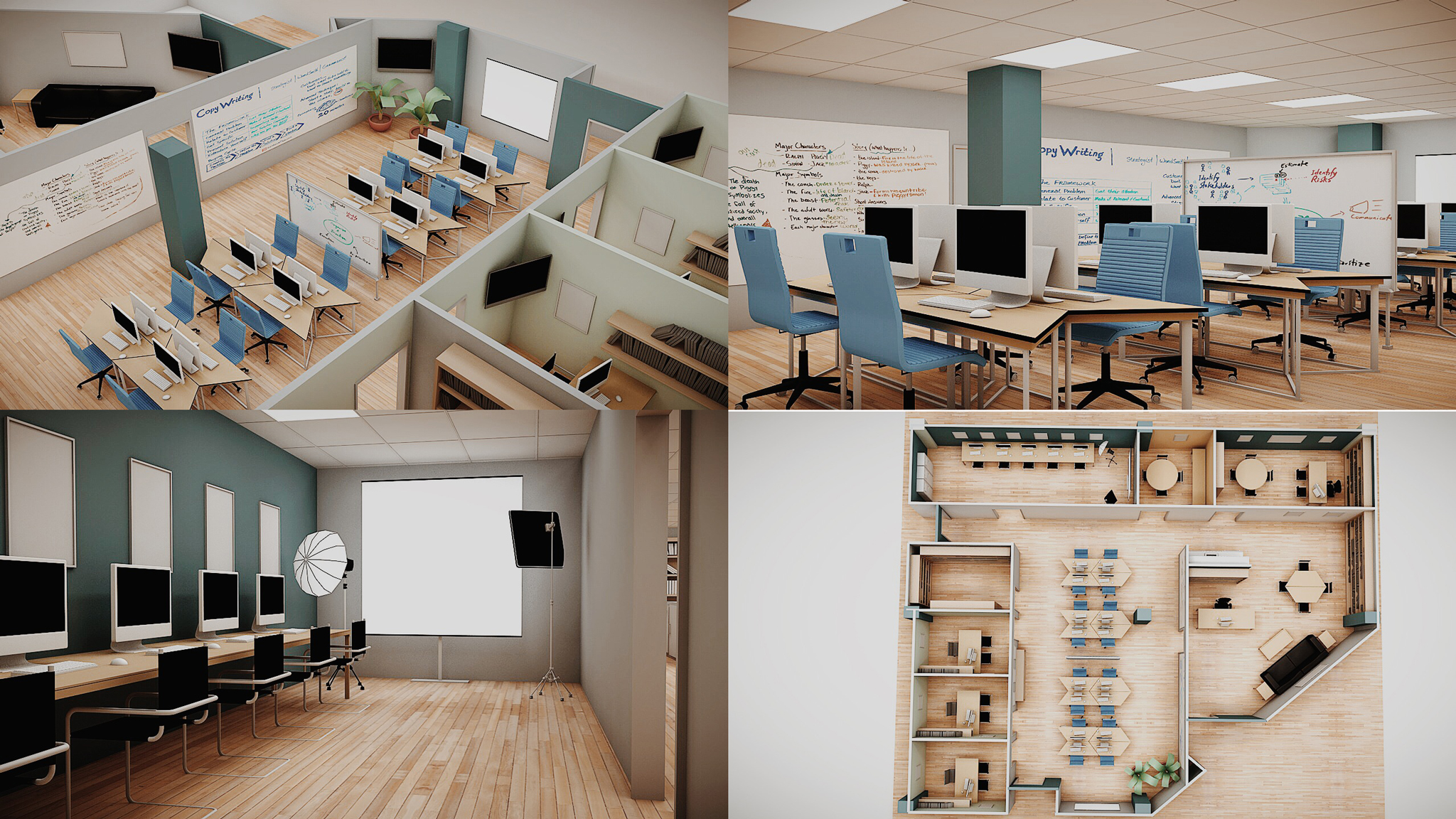 Katies Office01 2048×1152 Project And Modeling Ideas