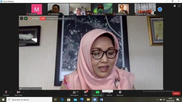 Rektor Universitas Hasanuddin Prof Dwia Aries Tina Pulubuhu