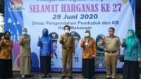 Pemkot Makassar Dukung Edukasi Pencegahan Covid-19 Melalui Penyuluh KB.