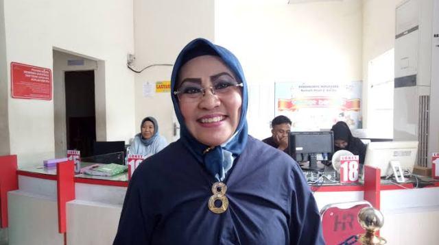 Kepala Disdukcapil Kota Makassar, Aryati Puspasari Abady